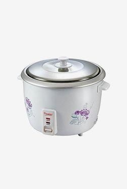 Prestige PRWO 2.8-2 1000 W 2.8 L Rice Cooker (White)