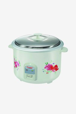 Prestige PRWO 2.8-2 1000 W 2.8 L Rice Cooker (White)