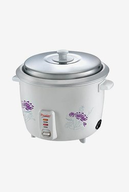 Prestige PROO 1.8-2 700 W 1.8 L Rice Cooker (White)