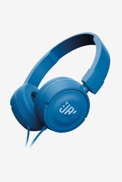 JBL T450 On The Ear Headphone (Blue)