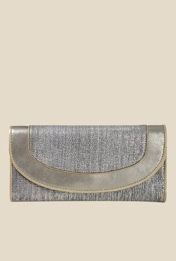 Da Milano Metallic Textured Wallet