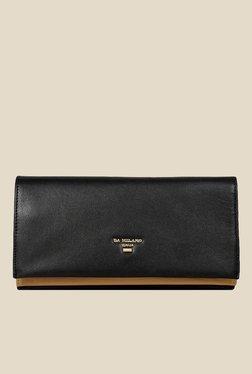 Da Milano Black Leather Wallet - Mp000000000689360