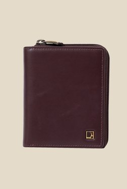 Da Milano Brown Leather Wallet