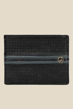 Da Milano Black Textured Leather Wallet - Mp000000000689445