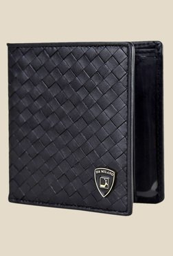 Da Milano Black Textured Leather Wallet - Mp000000000689471
