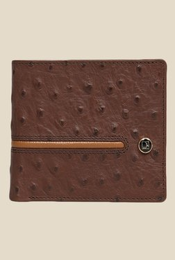 Da Milano Brown Textured Leather Wallet - Mp000000000689541