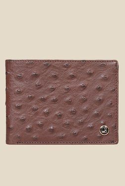 Da Milano Brown Textured Leather Wallet - Mp000000000689578