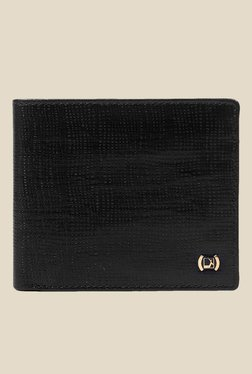 Da Milano Black Textured Leather Wallet - Mp000000000689586