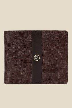 Da Milano Brown Textured Leather Wallet - Mp000000000689632