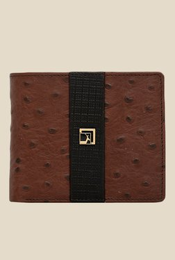 Da Milano Brown Textured Leather Wallet - Mp000000000689637