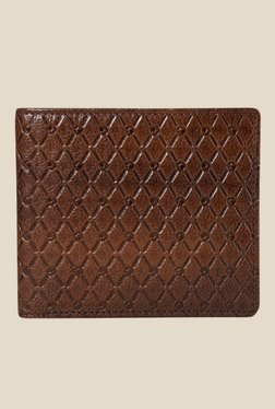 Da Milano Brown Textured Leather Wallet - Mp000000000689666