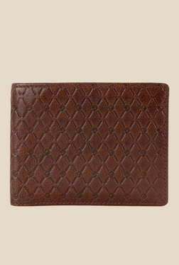 Da Milano Brown Textured Leather Wallet - Mp000000000689675