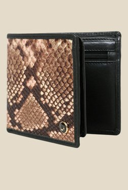 Da Milano Brown Textured Leather Wallet - Mp000000000689778