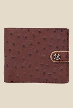 Da Milano Brown Textured Leather Wallet - Mp000000000689906