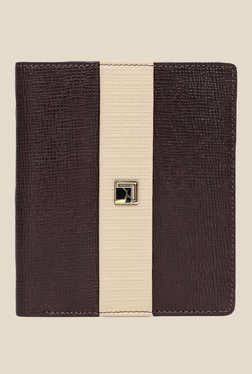 Da Milano Brown Textured Leather Wallet - Mp000000000689942