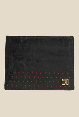 Da Milano Black Textured Leather Wallet - Mp000000000689950