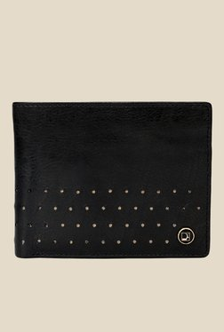 Da Milano Black Textured Leather Wallet - Mp000000000689954