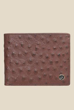 Da Milano Brown Textured Leather Wallet - Mp000000000689958