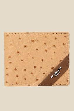 Da Milano Beige Textured Leather Wallet - Mp000000000689989