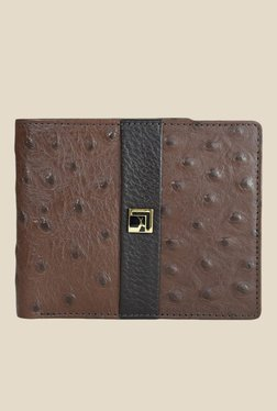 Da Milano Brown Textured Leather Wallet - Mp000000000690027