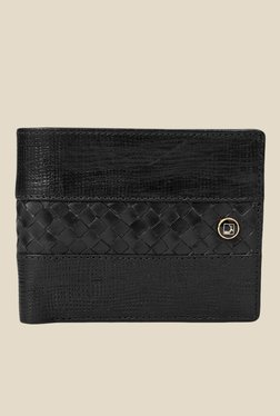 Da Milano Black Textured Leather Wallet - Mp000000000690065