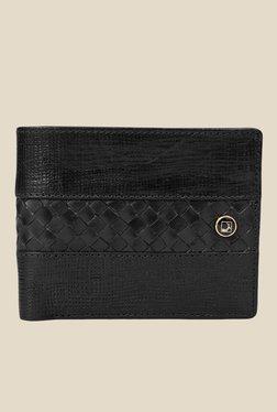 Da Milano Black Textured Leather Wallet - Mp000000000690065