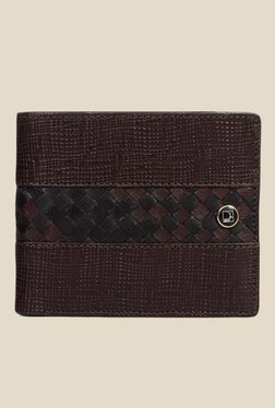 Da Milano Brown Textured Leather Wallet - Mp000000000690069