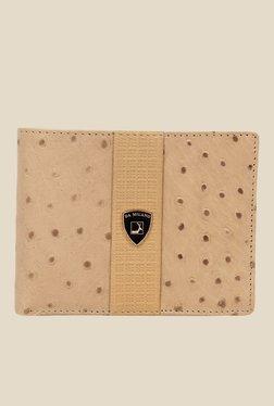 Da Milano Beige Textured Leather Wallet - Mp000000000690092