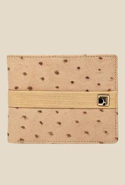 Da Milano Beige Textured Leather Wallet - Mp000000000690118