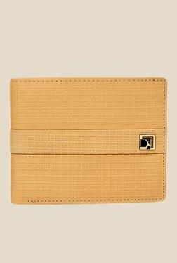 Da Milano Beige Textured Leather Wallet - Mp000000000690129