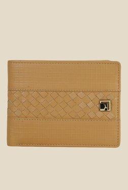 Da Milano Beige Textured Leather Wallet - Mp000000000690140