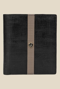 Da Milano Black Textured Leather Wallet - Mp000000000690160