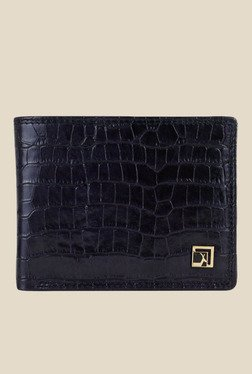 Da Milano Black Textured Leather Wallet - Mp000000000690170