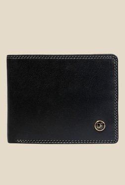Da Milano Black Leather Wallet - Mp000000000690211