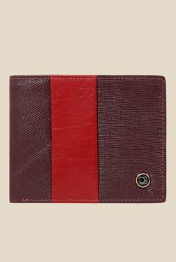 Da Milano Berry Textured Leather Wallet