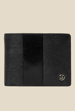 Da Milano Black Textured Leather Wallet - Mp000000000690238