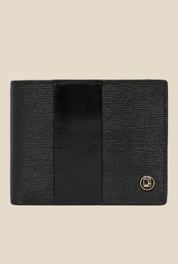 Da Milano Black Textured Leather Wallet - Mp000000000690244