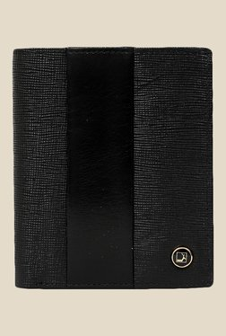 Da Milano Black Textured Leather Wallet - Mp000000000690252
