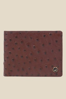 Da Milano Brown Textured Leather Wallet - Mp000000000690301