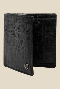 Da Milano Black Textured Leather Wallet - Mp000000000690303