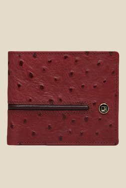 Da Milano Berry Textured Leather Wallet - Mp000000000690309