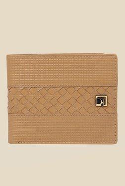 Da Milano Beige Textured Leather Wallet - Mp000000000690350