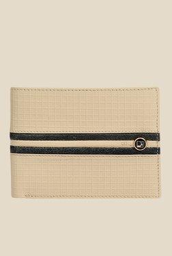 Da Milano Beige Textured Leather Wallet - Mp000000000690378