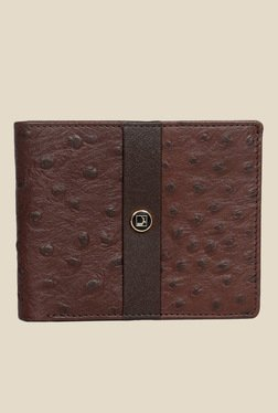 Da Milano Brown Textured Leather Wallet - Mp000000000690382