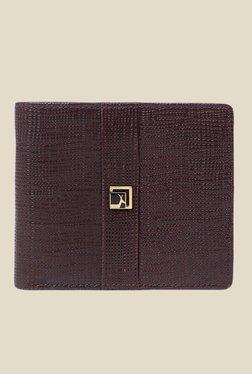Da Milano Brown Textured Leather Wallet - Mp000000000690497