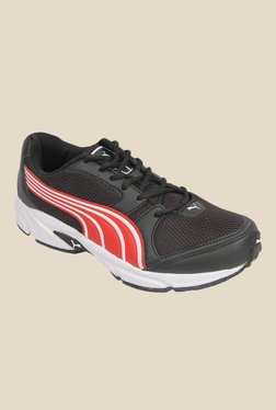 Puma Strike II DP Black & Brown Running Shoes