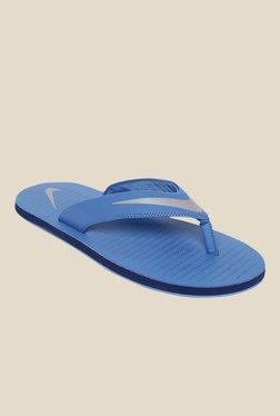 d8b2be0c321 Nike Chroma Thong 5 Blue Flip Flops for Men online in India at Best ...