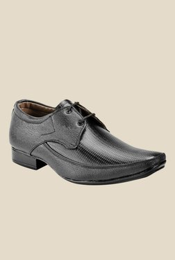 Juan David Black Derby Shoes
