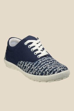 Juan David Navy & White Sneakers