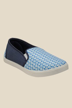 Juan David Navy & Blue Plimsolls